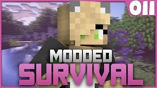 Minecraft: Modded Survival -Episode 11- David The Rattle Snake