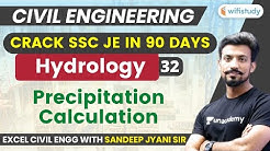 10:00 PM - SSC JE 2019-20 | Civil Engg. by Sandeep Sir | Hydrology Surface Sources