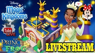 Disney Girl LIVESTREAM! TIANA'S PALACE! THE PRINCESS AND THE FROG 🐸  👑  LIMITED TIME EVENT