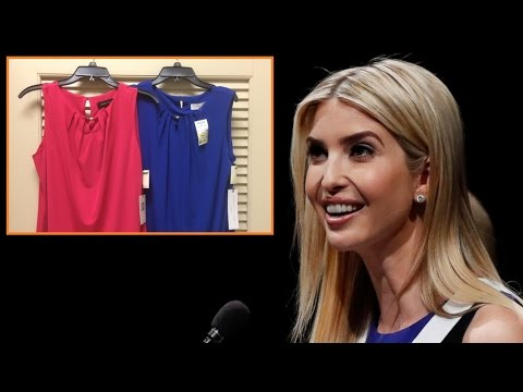 Ivanka Trump's Clothing Line Made in Chinese Sweatshop