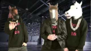 Gangsta Animals - Horses 4 Life