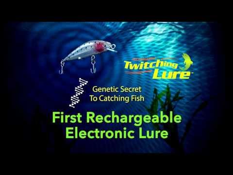 rechargable twitching lure - youtube, Reel Combo