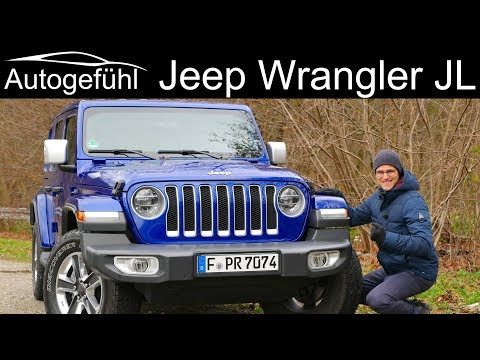 Jeep Wrangler JL FULL REVIEW Sahara Overland all-new 2019 2020