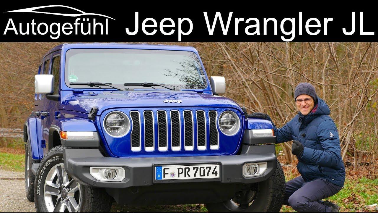 Jeep Wrangler Jl Full Review Sahara Overland All New 2019 2020 Youtube