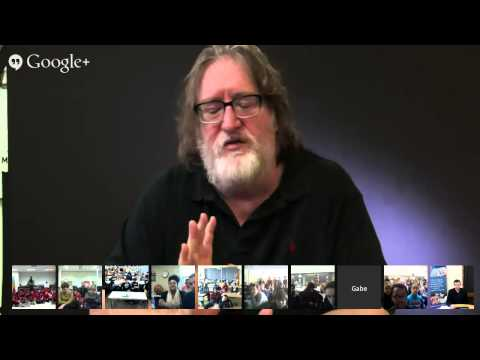 Gabe Newell Talks Code with Students