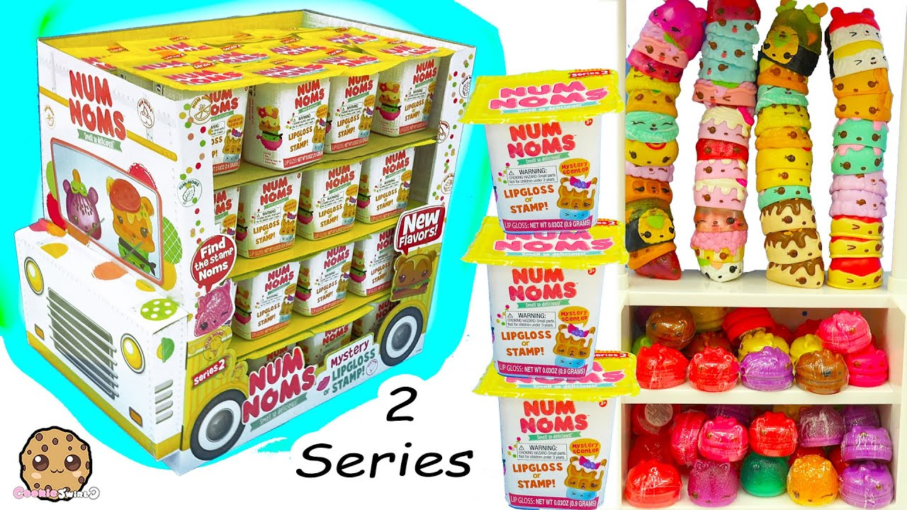 Series 2 Full Ice Cream Truck Box Of 48 Num Noms Surpri
