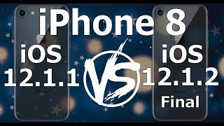 iPhone 8 : iOS 12.1.2 Final vs iOS 12.1.1 Speed Test (Build 16C101)