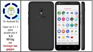 Recovery y root alcatel pixi 4 5012g