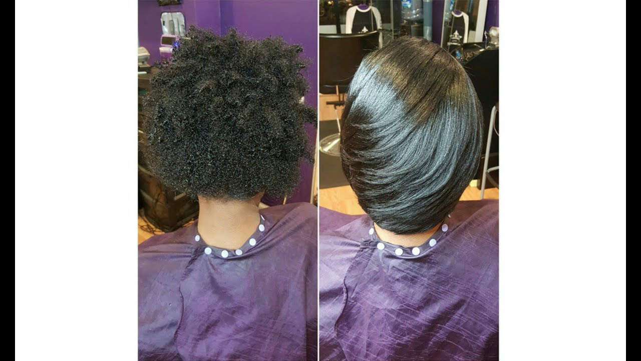How To Silk Wrap Natural Hair