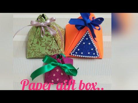 DIY.. paper gift box -1