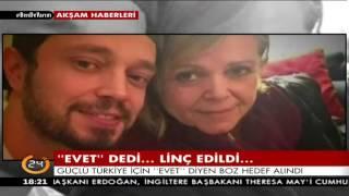 """Güçlü Türkiye için """"Evet"""" diyen Murat Boz hedef alındı"""