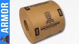 Armor Protective Packaging® Introduces Global Wrap® VCI Paper to prevent rust.