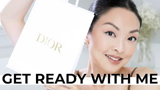Get Ready With Me (Q&A, Skincare, *NEW* Dior)