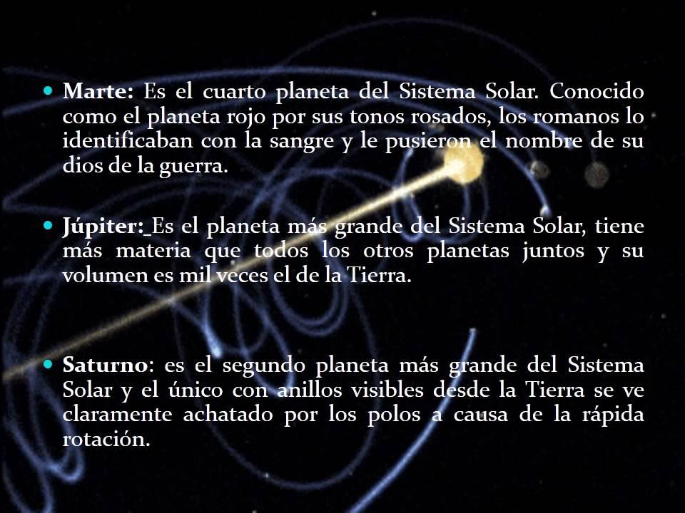 NUESTRO SISTEMA SOLAR - YouTube