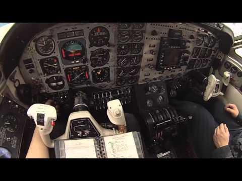 King Air A100 Run up