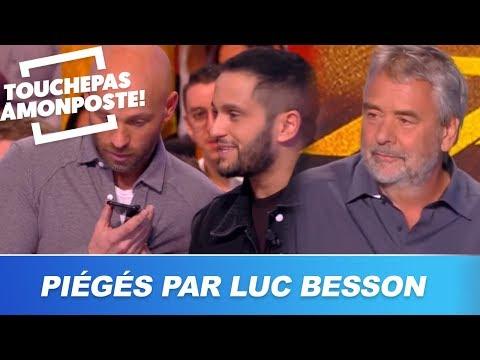 Luc Besson piège en direct Malik Bentalha et Franck Gastambide