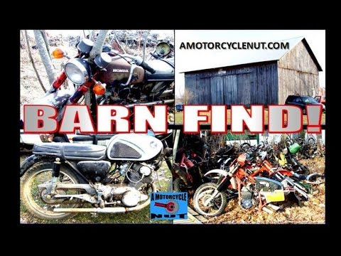 Motorcycle Barn find.