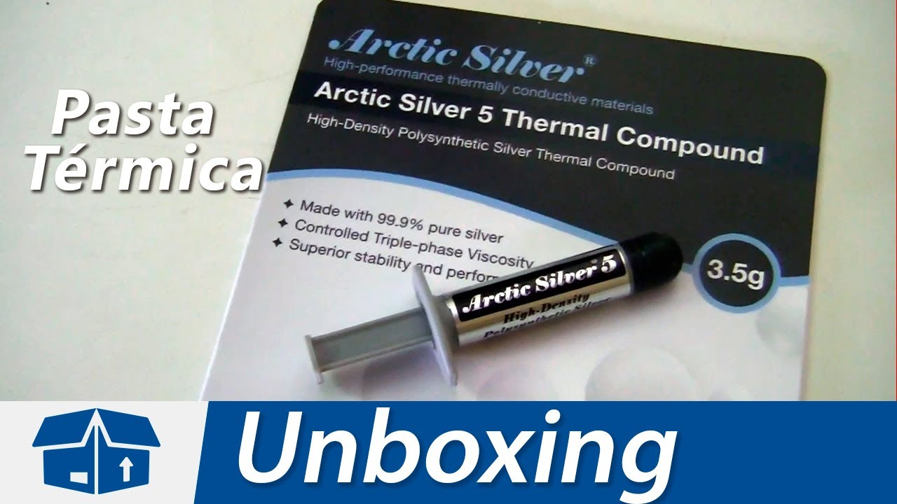 Arctic Silver 5 Unboxing En Español