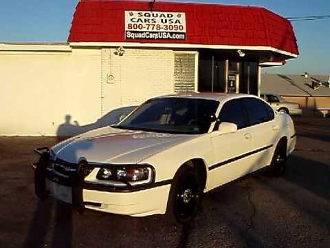 2005 Chevy Impala 9C1 Police  YouTube