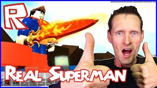 I'm The Real Superman! / Roblox Superhero Tycoon