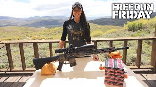 August Free Gun Friday , LWRCI DI 224 Valkyrie Rifle + Kahles Optic And Federal Ammo , Episode 1