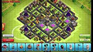 Clash of Clans Layouts - Town Hall 10 Farming Layout 53 (Daniel) with 275 Walls