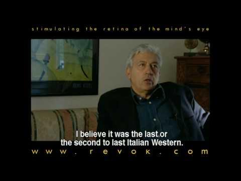 SERGIO MARTINO - Interview discussing the making of MANNAJA (1977)