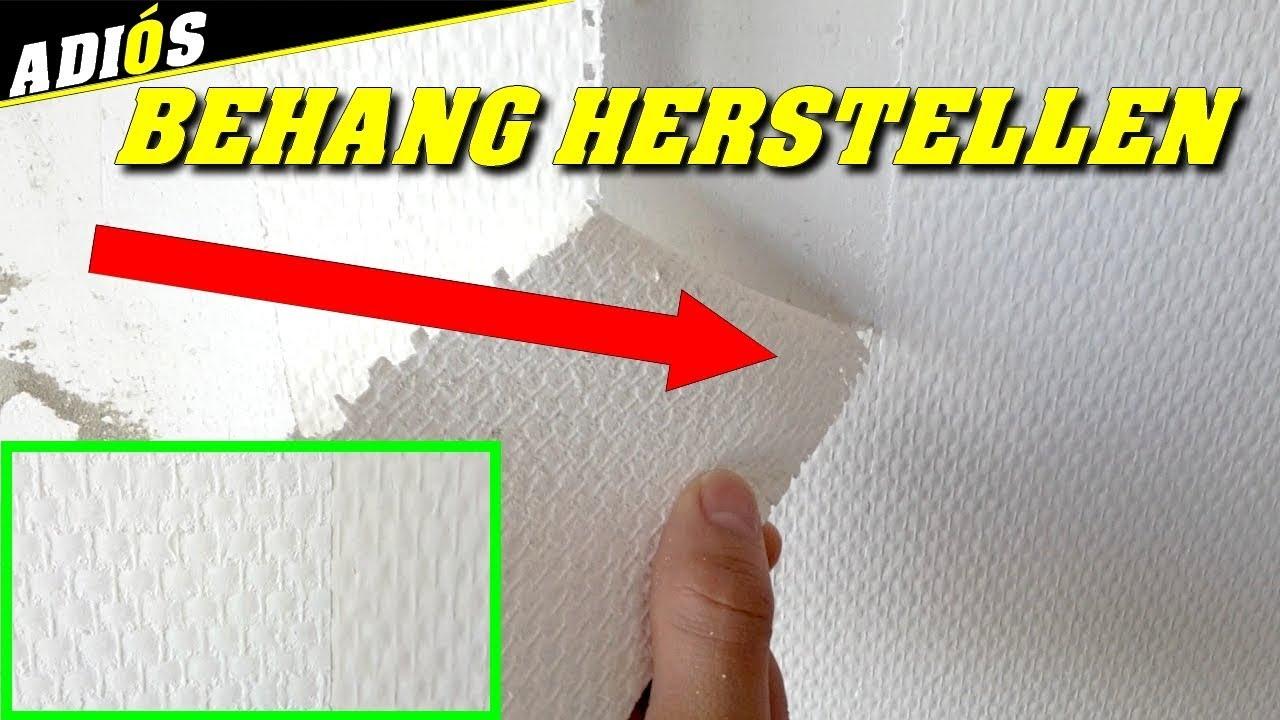 Glasvezelbehang Verwijderen Dit Is De Truc Youtube
