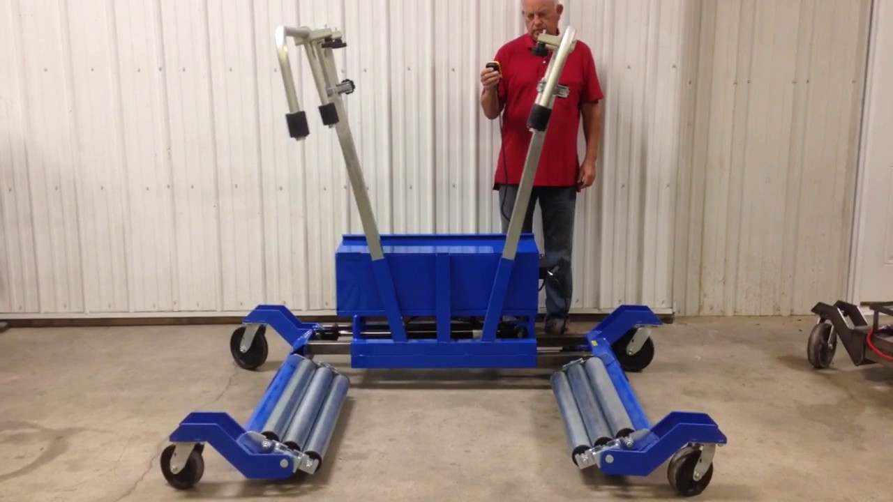 Electric Ag Wheel Dolly Youtube