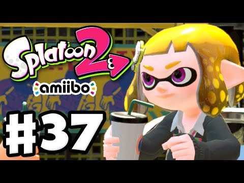 Splatoon 2 - Gameplay Walkthrough Part 37 - Original Amiibo School Gear! (Nintendo Switch)