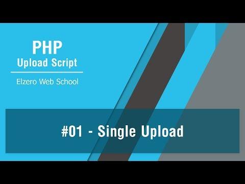PHP Upload Script In Arabic #01