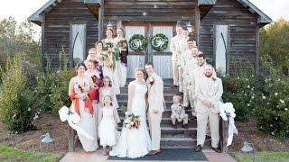 Hidden Acres Marion SC  wedding Holly & Nick