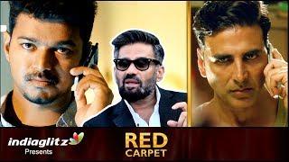 Why Lot of Tamil Movies are Remade in Hindi? | Suniel Shetty Interview | Vijay | Akshay Kumar