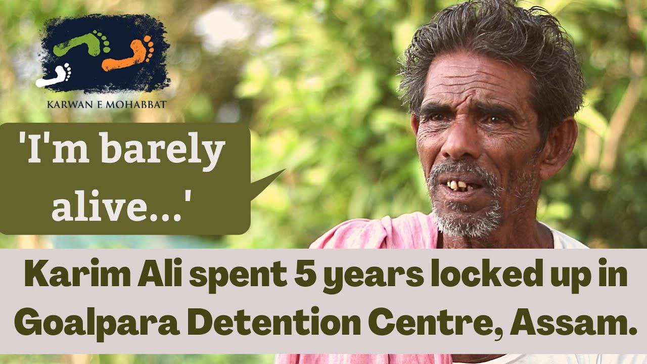 I'm Barely Alive, says Karim Ali Who Spent 5 Years in Detention Centre | #HumLog | Karwan e Mohabbat