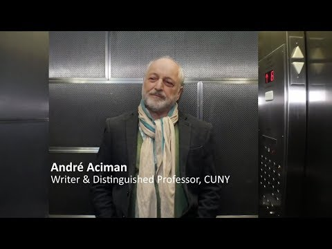 Twilight Talks: 'Call Me By Your Name' Author André Aciman