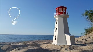 Making a Wooden Lighthouse (Part 2 of 2)