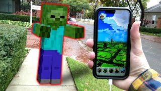 Minecraft But It's Real Life (minecraft Earth)