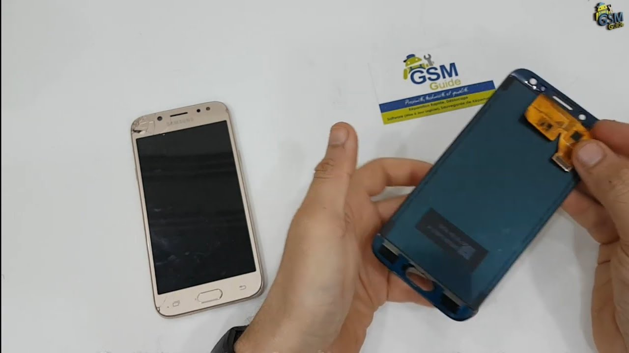 Fake Lcd Samsung J5 pro very poor quality Replacement