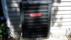 Heat Pump/Air Conditioning HVAC Goodman Replacement - Emerald Isle, NC Home - June 20, 2013