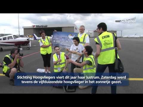 Voor één Dag Piloot Op De Grote Hoogvliegersdag Op Schiphol