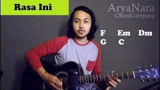 Chord Gampang (Rasa Ini - Vierra) by Arya Nara (Tutorial Gitar) Untuk Pemula
