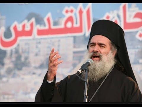 نداء من المطران عطا الله حنا الى كل المسيحيين في العالم  من أجل القدس