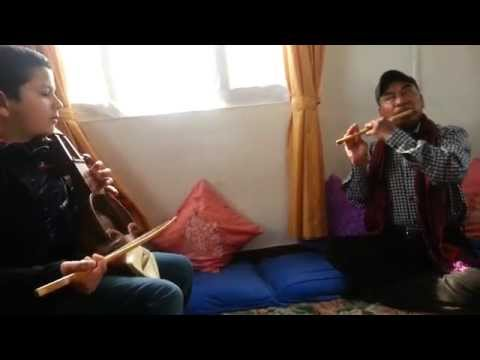 Navin Gurung ( Doing some classes) - Flute Artist Nepal