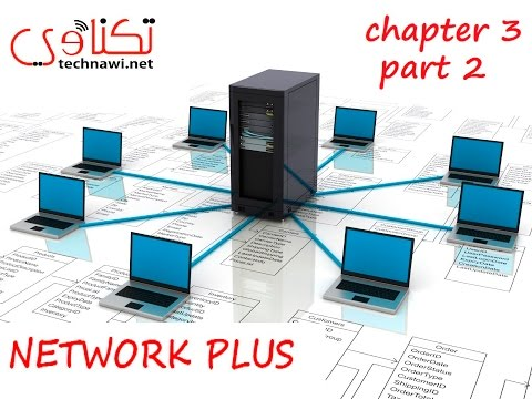 Network Plus ch3 -2  how to plug on twisted pair by Mostafa Shaikhoun