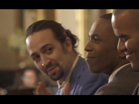 Original Hamilton Cast Performs At White House For Obamas