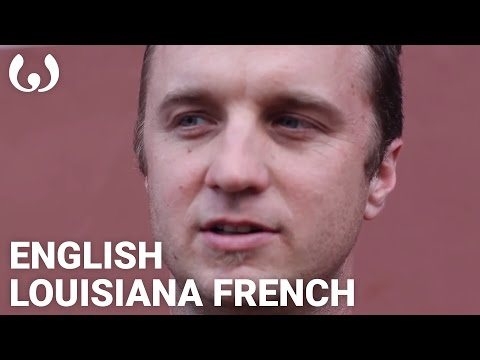 WIKITONGUES: Louis speaking Louisiana French & English
