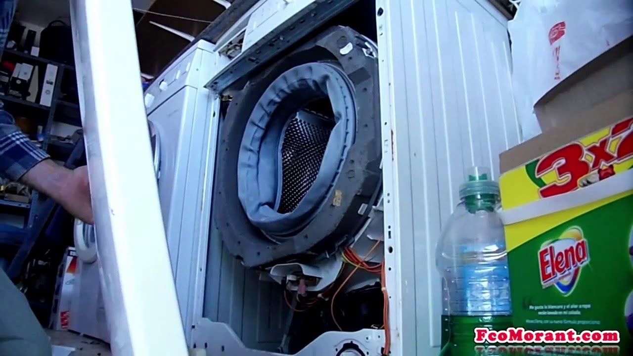 cambiar resistencia lavadora bosch 1 2 youtube