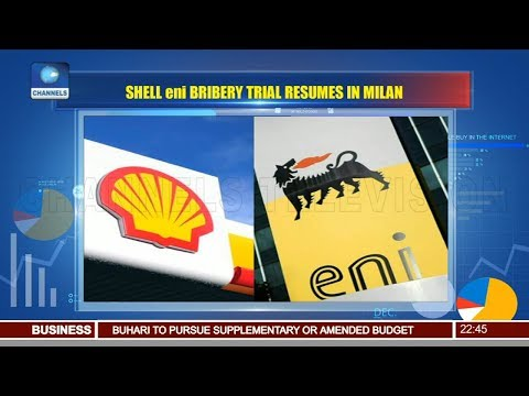 SHELL, ENI Bribery Trial Resumes In Milan 20/06/18 Pt.3 |News@10|