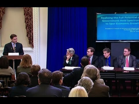 President's Council of Advisors on Science and Technology Spectrum Report Release