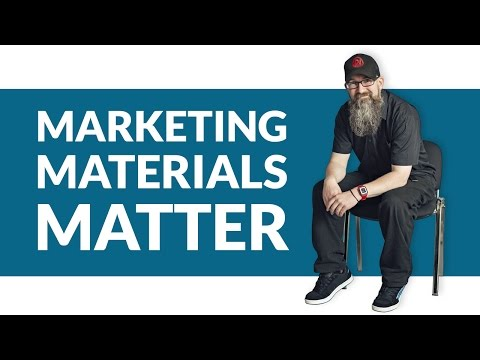 Promotional Marketing Materials - Why you need great marketing materials to promote your business.